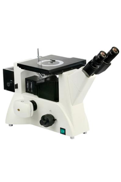 高清三目倒置金像显微镜