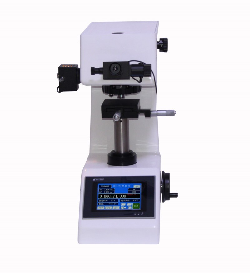 触摸屏自动转塔数显显微维氏硬度计